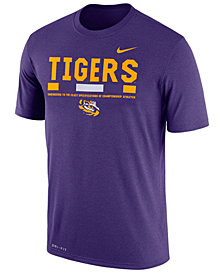 Nike Men's LSU Tigers Legend Staff Sideline T-Shirt