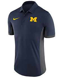 Men's Michigan Wolverines Evergreen Polo