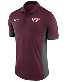 Nike Men's Virginia Tech Hokies Evergreen Polo