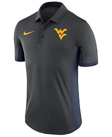 Nike Men's West Virginia Mountaineers Evergreen Polo