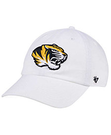 '47 Brand Missouri Tigers CLEAN UP Cap