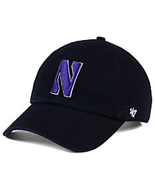 '47 Brand Northwestern Wildcats CLEAN UP Cap