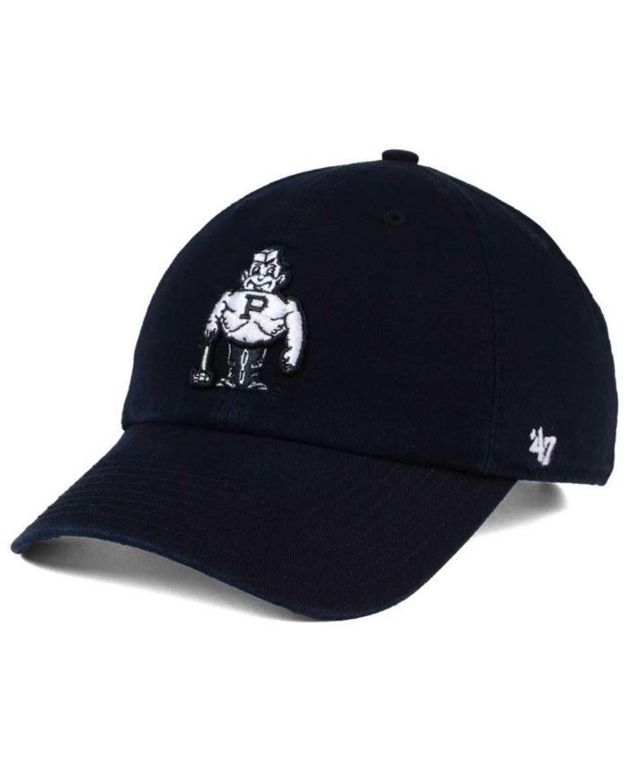 '47 Brand Purdue Boilermakers CLEAN UP Cap & Reviews - Sports Fan Shop By Lids - Men - Macy's