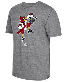 adidas Men's Louisville Cardinals Vintage Logo T-Shirt