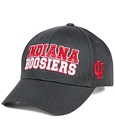 Top of the World Indiana Hoosiers Charcoal Teamwork Snapback Cap