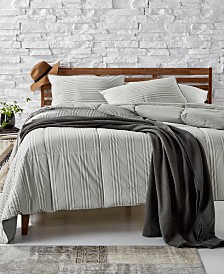 Lauren Ralph Lauren Graphton Reversible Yarn-Dyed Stripe Full/Queen Down-Alternative Comforter