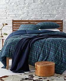 Lauren Ralph Lauren Blackwatch Yarn-Dyed Plaid Bedding Collection