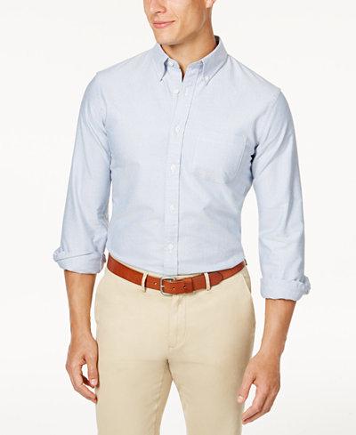 Brooks Brothers Red Fleece Men's Oxford Slim-Fit Shirt