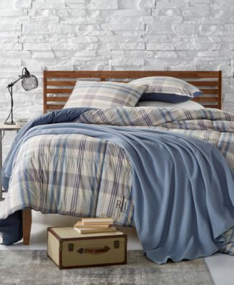 Sundeck Plaid Yarn-Dyed Reversible Twin Down Alternative Comforter