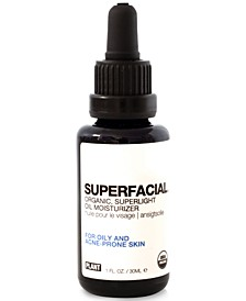Superfacial Organic Superlight Oil Moisturizer For Oily & Acne-Prone Skin