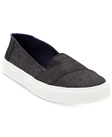 Nautica Women's Long Bay Slip-On Sneakers