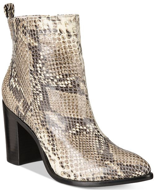 d5a89c2f645 DKNY Houston Ankle Boots, Created For Macy's & Reviews - Boots ...