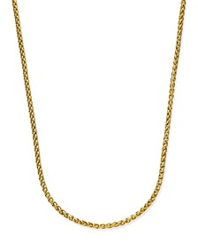 Men's Gold-Tone Chain Necklace