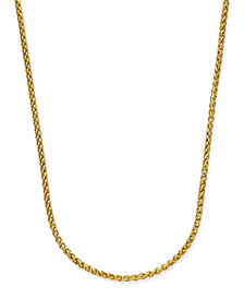 Sutton by Rhona Sutton Men's Gold-Tone Chain Necklace