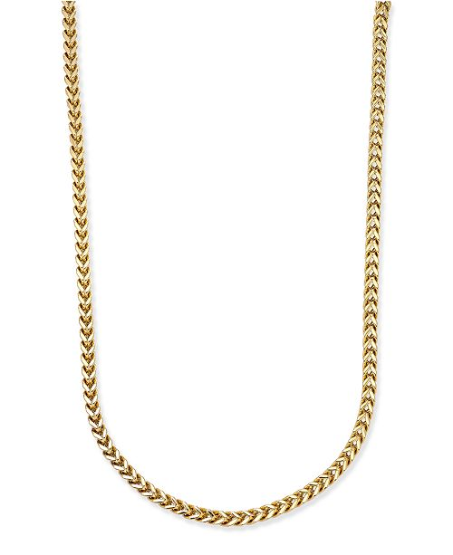 65c1cc1fb5d14 Men's Gold-Tone Chain Necklace