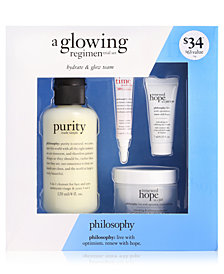 philosophy 4-Pc. A Glowing Regimen Trial Set