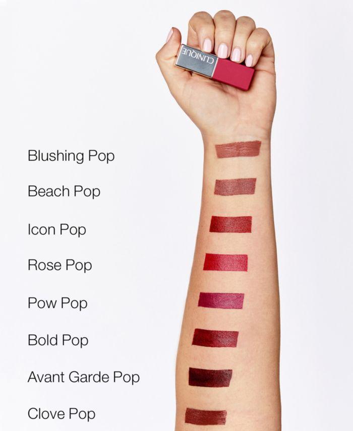 Clinique Pop Matte Lip Color + Primer, 0.13 oz. & Reviews - Makeup - Beauty - Macy's
