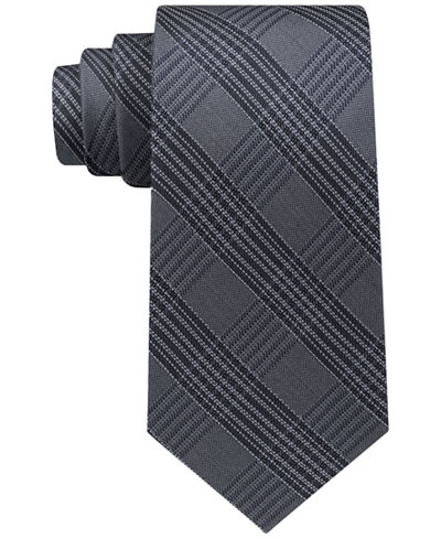 Calvin Klein Men's Menswear Windowpane Tie