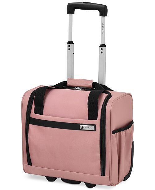 "London Fog CLOSEOUT! Southbury 15"" Wheeled Under-Seat Bag, Created for Macy's"
