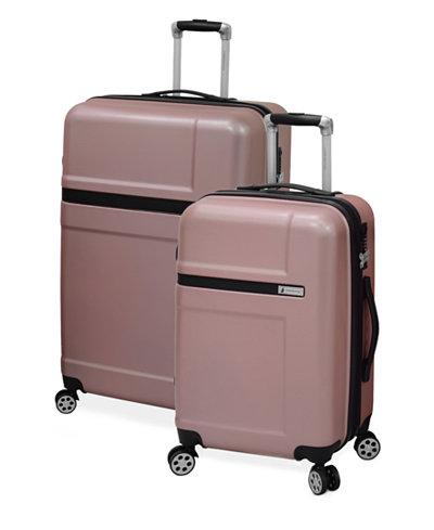 London Fog Southbury Expandable Hardside Spinner Luggage ...