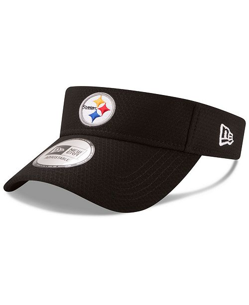 New Era Pittsburgh Steelers Training Visor