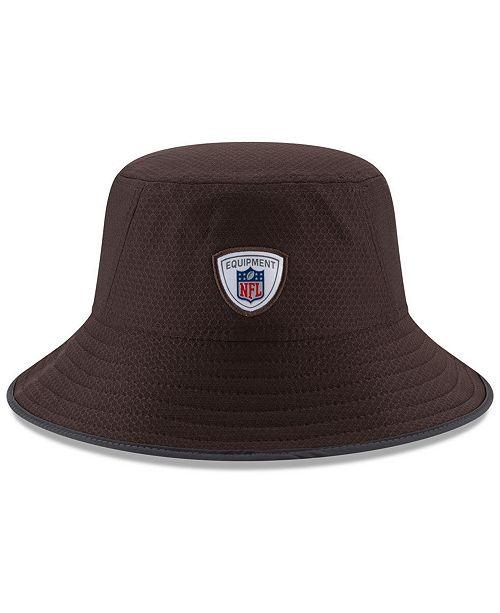New Era Cleveland Browns Training Bucket Hat - Sports Fan Shop By ... 73cb0bc4b