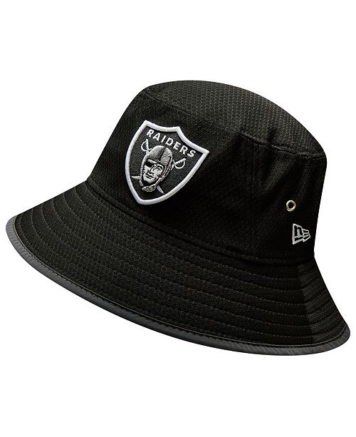 New Era Oakland Raiders Training Bucket Hat & Reviews Sports Fan