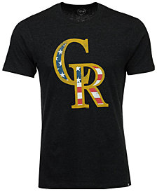 '47 Brand Men's Colorado Rockies Americana Star T-Shirt