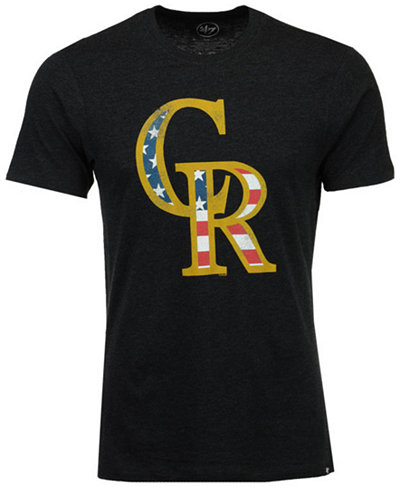 '47 Brand Men's Colorado Rockies Americana Star T-Shirt