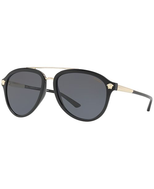 amp; Reviews Versace Sunglasses Sunglasses By Polarized Ve4341 0SgFa