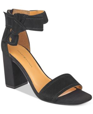Tommy Hilfiger Sunday Two-Piece Block-Heel Dress Sandals Women