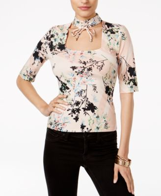 Image of GUESS Irene Choker Top