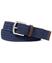 67328f32bfb Polo Ralph Lauren Men s Stretch Waxed Belt