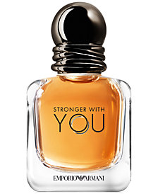 Emporio Armani Stronger With You Eau de Toilette Travel Spray, 1 oz.