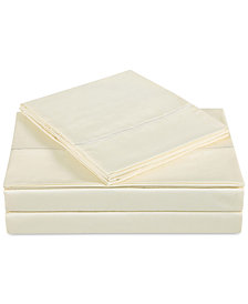 Charisma Classic Cotton Sateen 310 Thread Count 4-Pc. Solid Full Sheet Set