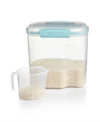 Martha Stewart Collection Storage Container, 81 Oz. With Measuring Cup,  Created For Macyu0027s