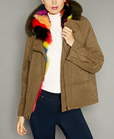 The Fur Vault Hooded Fox-Fur-Lined Parka