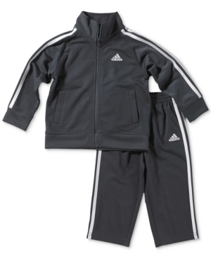 adidas 2-Pc. Tricot Jacket...