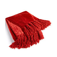 Martha Stewart Collection Chenille Throw (Multiple Colors)