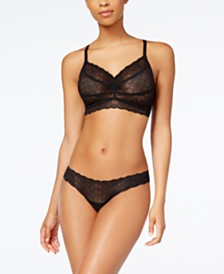 Cosabella Sweet Treats Infinity Embroidered Bralette & Thong