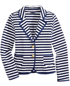 Tommy Hilfiger Striped Blazer Big Girls (716)