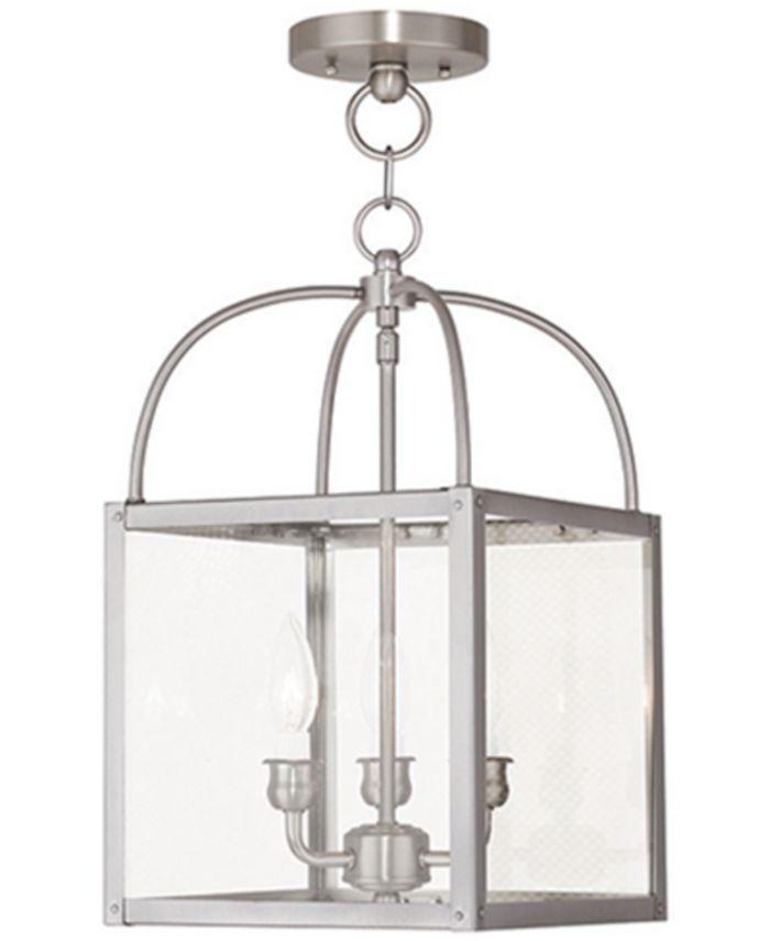 Livex - Millford Semi Flush Ceiling Light