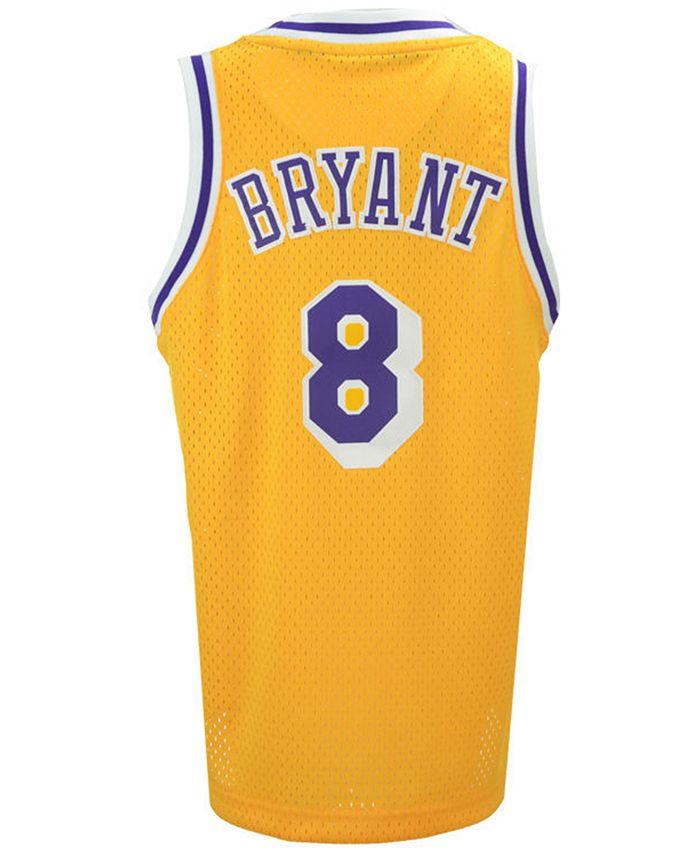 adidas Kobe Bryant Los Angeles Lakers Retired Player Swingman ...