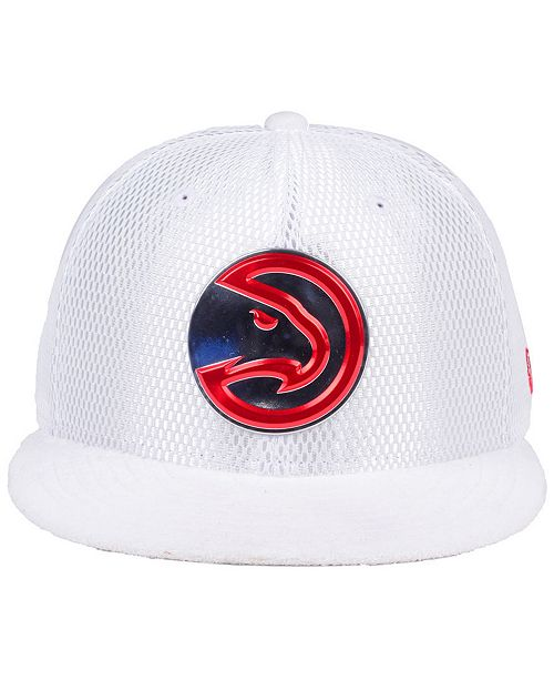 low priced d7df9 8d2b6 New Era Atlanta Hawks On-Court Collection Draft 59FIFTY Fitted Cap ...