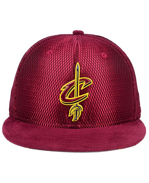New Era. Cleveland Cavaliers On-Court Collection Draft 59FIFTY Fitted Cap f6a763b36ca3