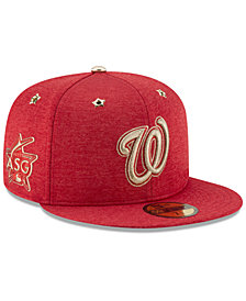 New Era Boys' Washington Nationals 2017 All Star Game Patch 59FIFTY Fitted Cap