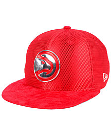New Era Atlanta Hawks On-Court Collection Draft 9FIFTY Snapback Cap