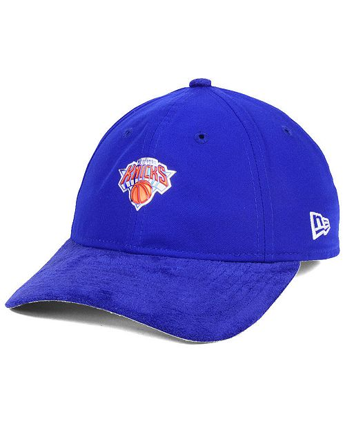 f3d2c2906a6ee New Era New York Knicks On-Court Collection Draft 9TWENTY Cap ...