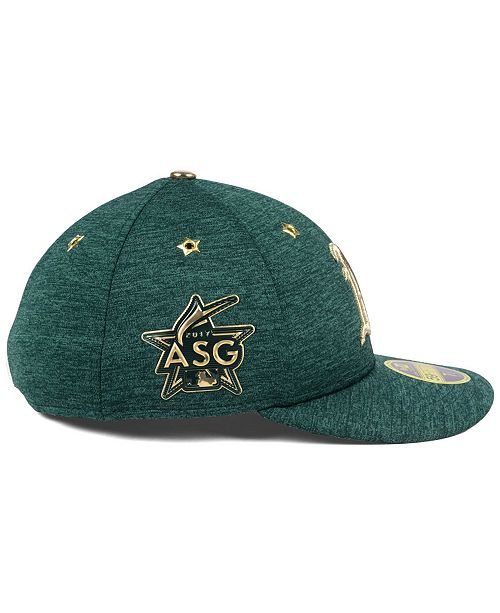 1e6bce93aa6b9 Oakland Athletics 2017 All Star Game Patch Low Profile 59FIFTY Fitted Cap  ...