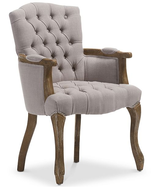 BLUSH & BRASS Clemence Armchair, Quick Ship
